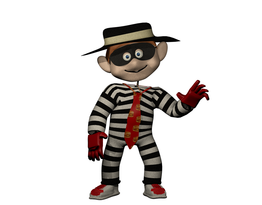 hamburglar by photo negativemickey