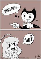 Angelcake! by papercrownprincess