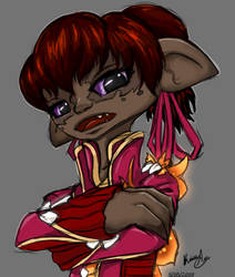 GW2 Inquest Asura by papercrownprincess