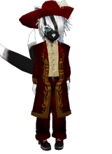 My IMVU charactor as a redmage by nightwolf316