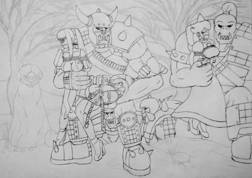 Comiss: Warhammer Invasion