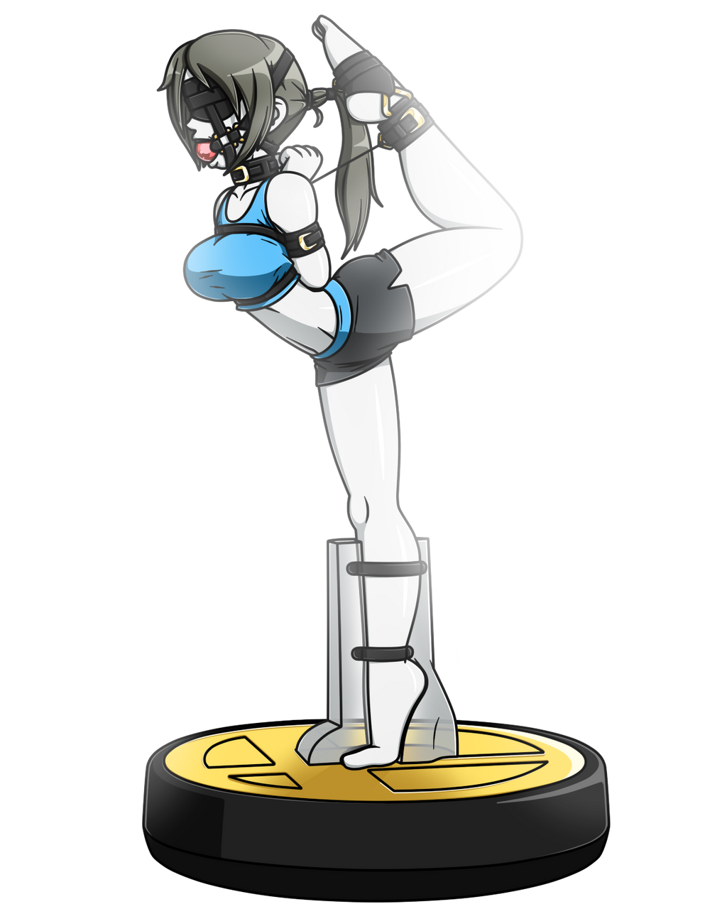 Amiibound Wii-Fit Trainer Solo by Raver1357