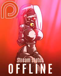 Patreon Stream Status by Raver1357