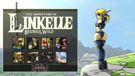 Adventure of Linkelle Bondage Pack 3 by Raver1357