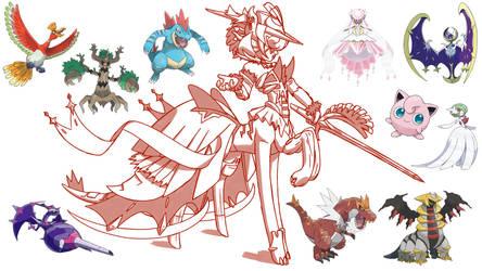 Pokemon Deca-Fusion Challenge by Raver1357