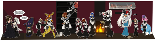 May 2021 - The Maid May Collab by Raver1357