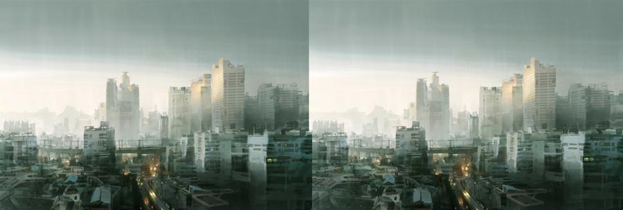 Seoul - stereo 3d by artbytheo