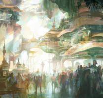 Crowd by artbytheo