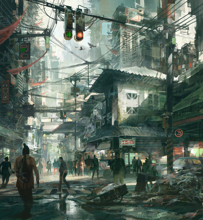 Street Scene by artbytheo