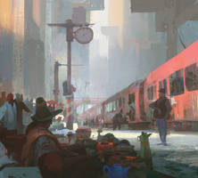 Red Train by artbytheo