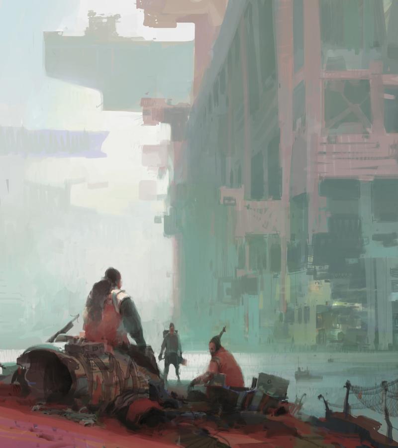 Outskirts by artbytheo