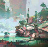 Cove Village by artbytheo