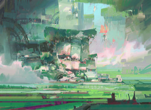 Guild Wars 2 - rice paddy valley