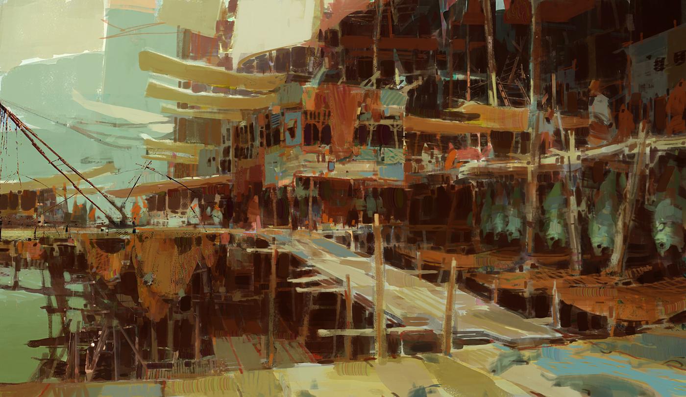 Kite City 2 - Guild Wars 2 by artbytheo