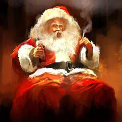 Santa is gonna sue me by artbytheo