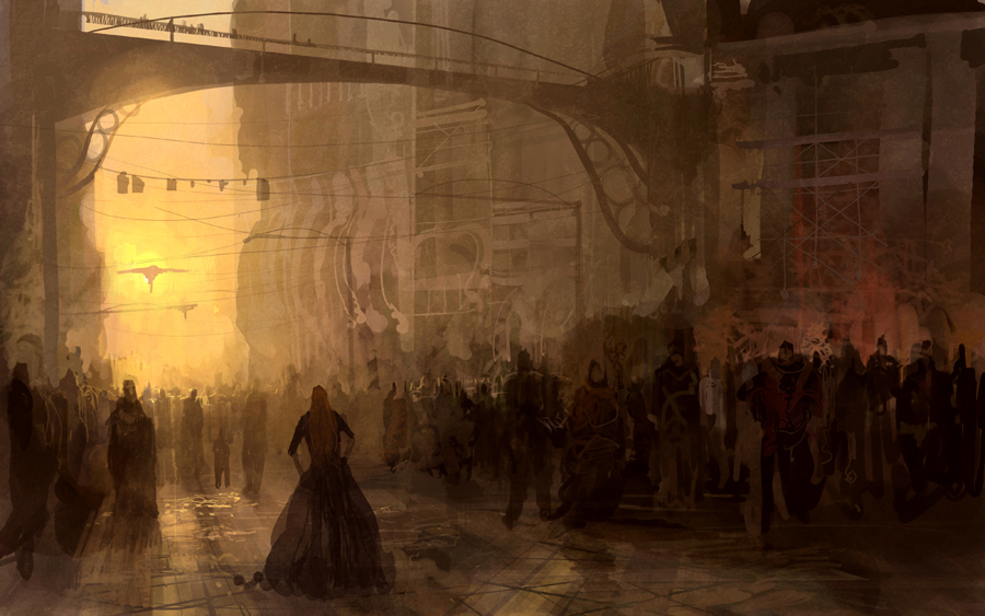 Street scene - departure
