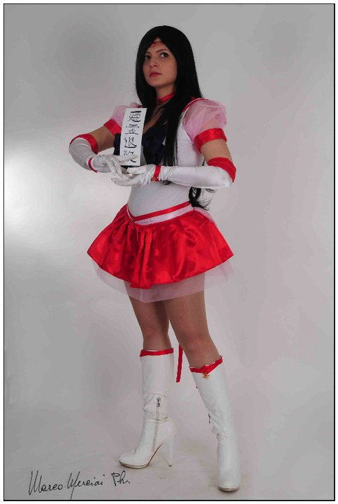 Eternal Sailor Mars Costume Eternal Sailor Mars-SailorEternal Sailor Mars Costume