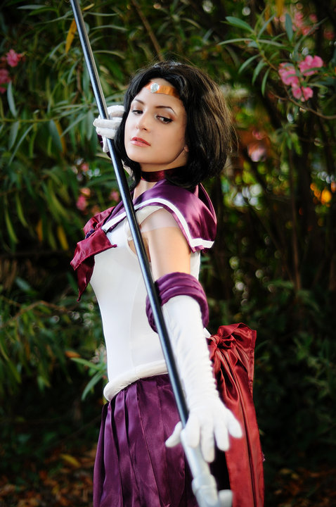 Sailor Saturn_Sailor Moon by Miwako-cosplay