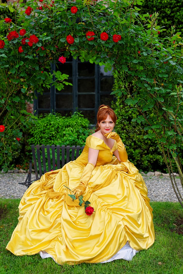 Belle- The Beauty and the Beast by Miwako-cosplay