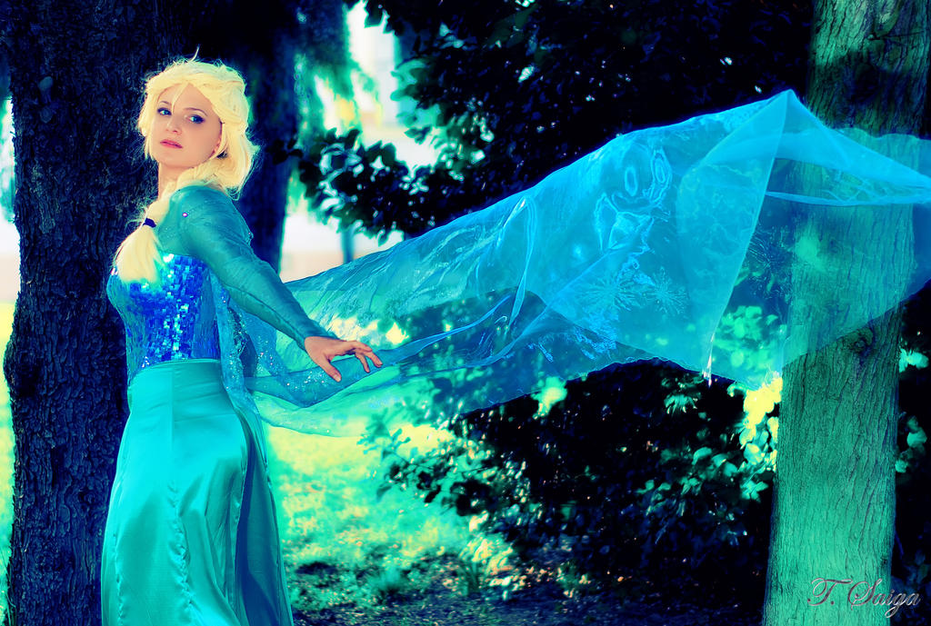 Elsa from Frozen by Miwako-cosplay