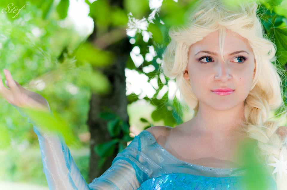 Elsa - Frozen by Miwako-cosplay