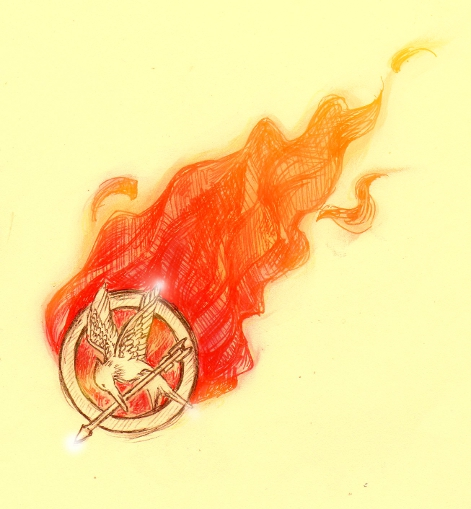 Mockingjay Pin by NynjaKat