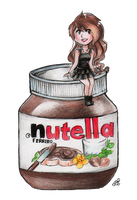 Nutella Love by NynjaKat