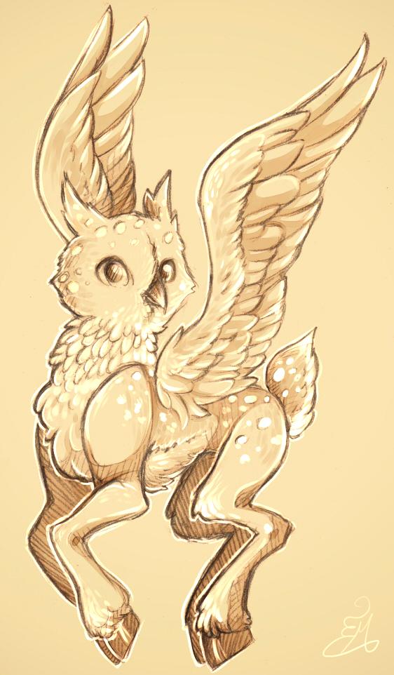 Owldeer by NynjaKat