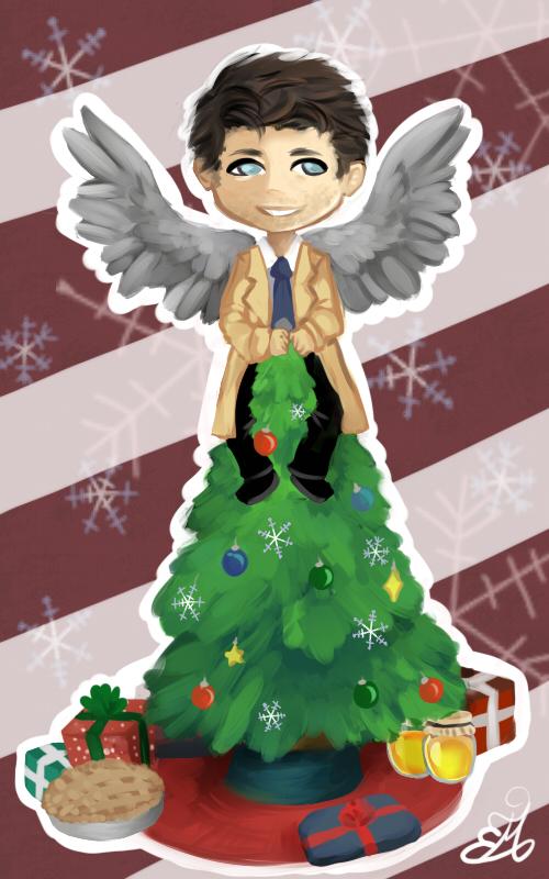 A Very Supernatural Christmas by NynjaKat