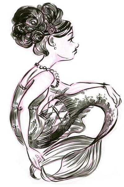 Flapper Mermaid by NynjaKat