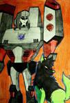 TFA Megatron and Starfire