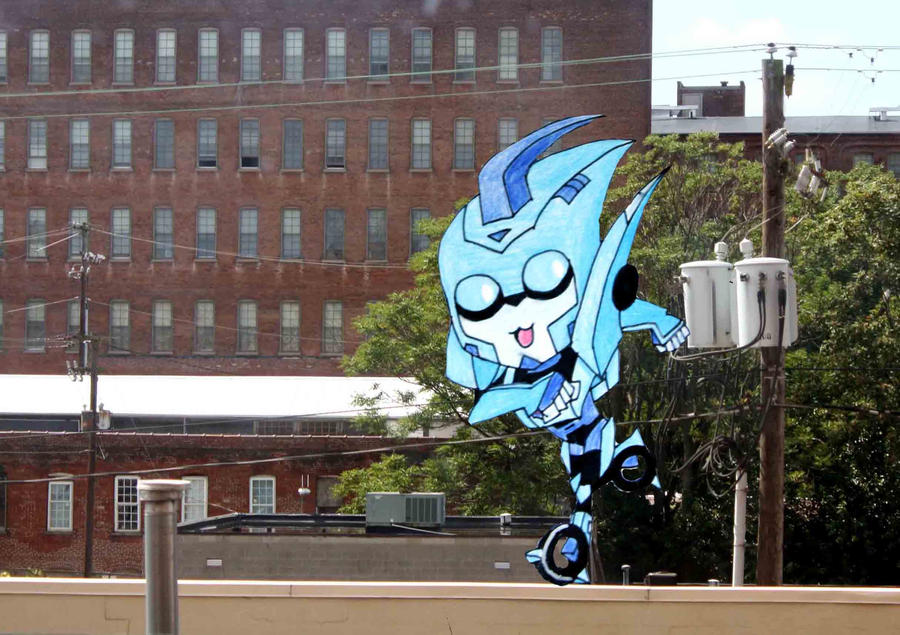 How Did Blurr Get On My Apartment Roof?? by PDJ004