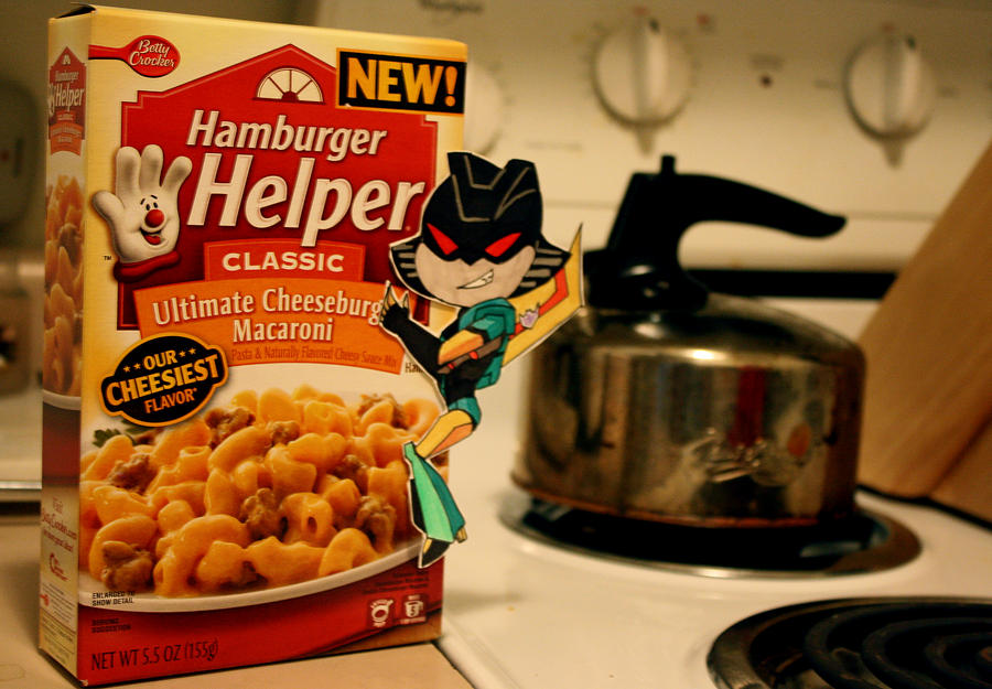 MY HAMBURGER HELPER!!!!! by PDJ004