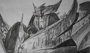 Megatron/Unicron Sketch by PDJ004