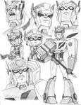 TFA Optimus Prime Sketchdump