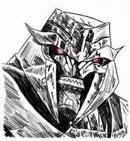TFP Megatron Sketch by PDJ004