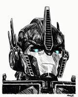 Optimus Prime by PDJ004