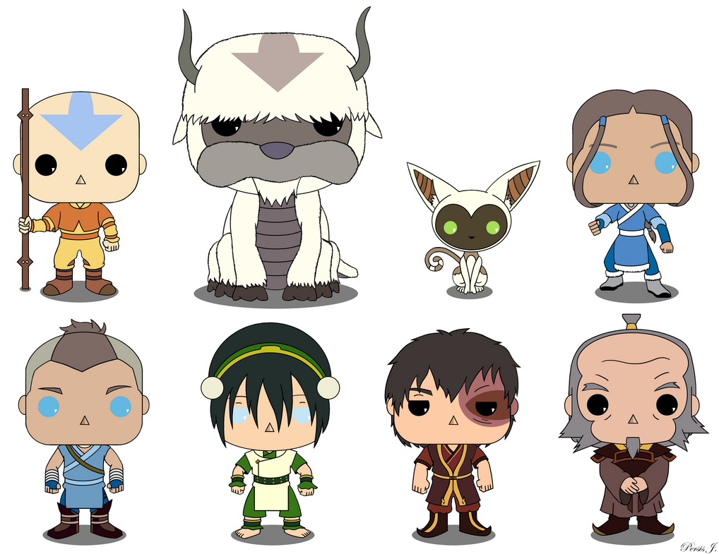 Avatar The Last Airbender Pop Vinyl By Pdj004 On Deviantart