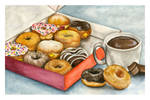 Donuts and Hot Chocolate