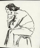 Person on a chair by Annette2