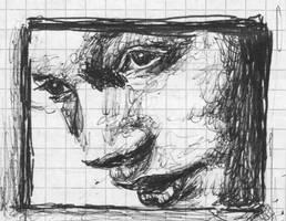 Woman in a window by Annette2
