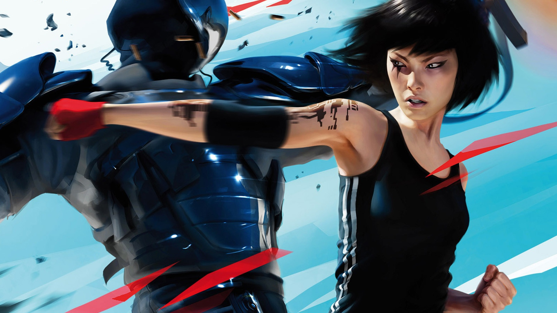 Mirrors Edge Xbox360 Wallpaper by MagneetoBandeeto