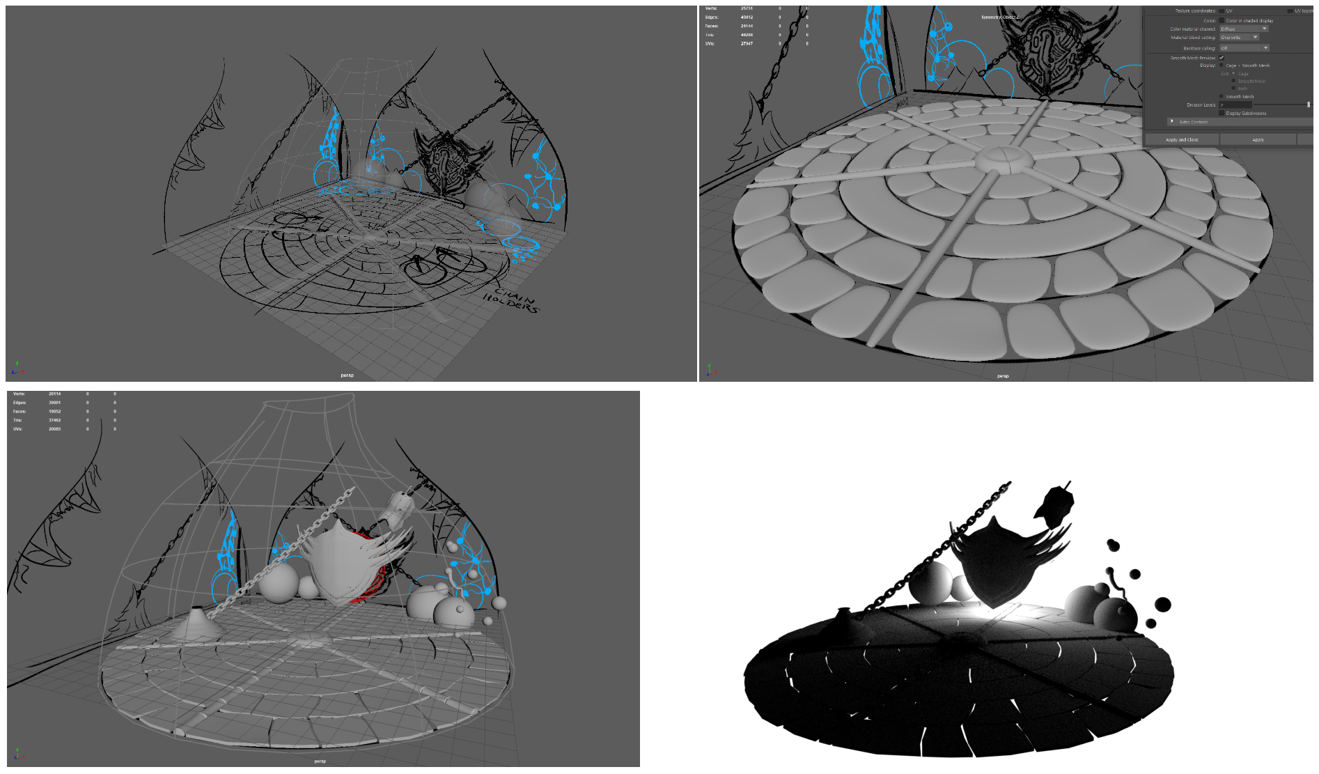 Hollow Knight Environment Model - In Progress