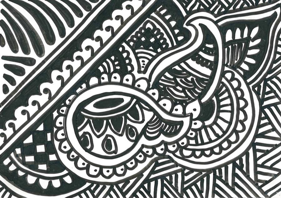 Black Sharpie On Paper By Ahmi87 DeviantART