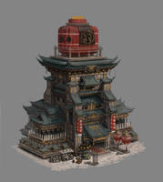 A building design for game