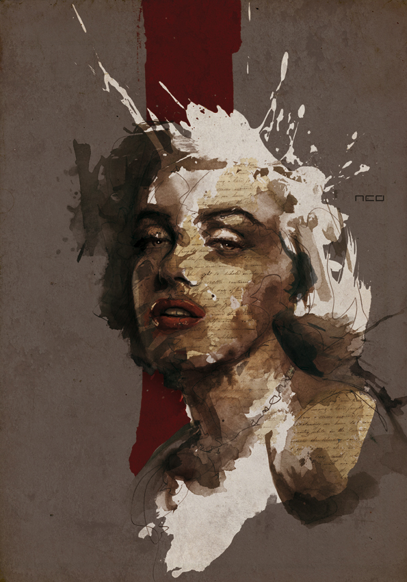 Marilyn Monroe by neo-innov