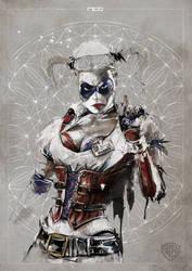 Harley Quinn - Warner Bros commission by neo-innov