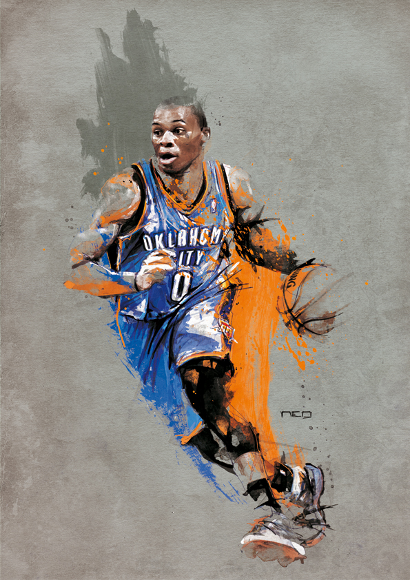 Russell WESTBROOK - NBA by neo-innov
