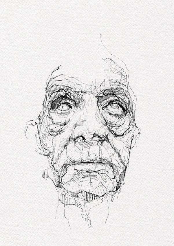 Neo Traditional Art Sketch by neo-innov