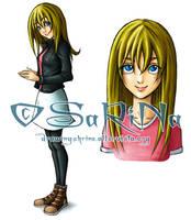 + Character 02: ZOE + by SaraFabrizi